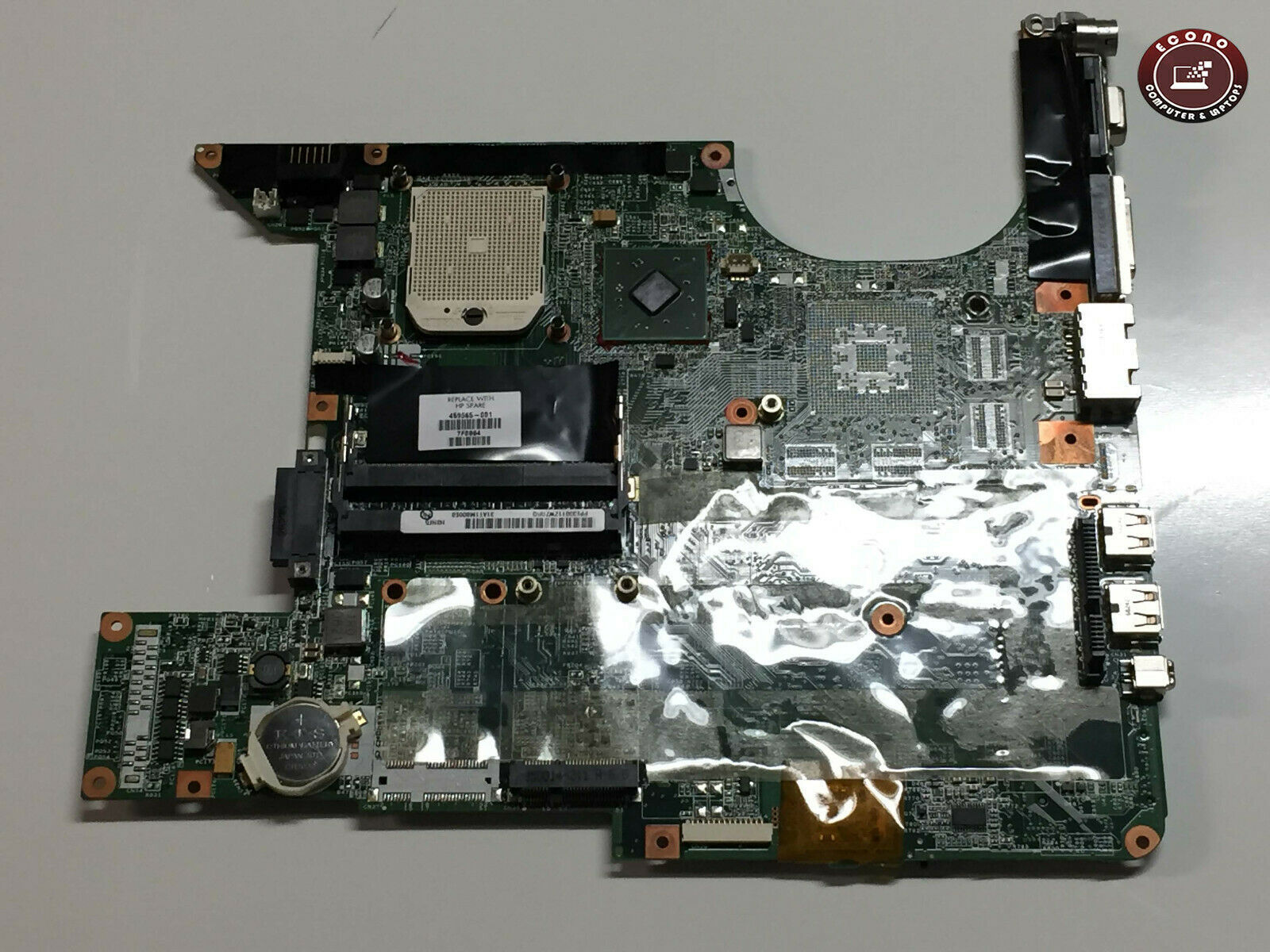 Primary image for HP DV6000 Laptop Motherboard 459565-001 (AS-IS)