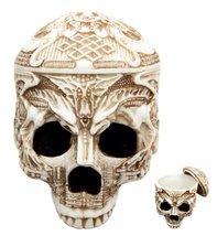 Tibetan Dragon Square Mongol Seal Tribal Tattoo Skull Skeleton Jewelry U... - $29.69
