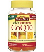 Nature Made CoQ10 Coenzyme Q 10 Adult Gummies 60 Ct - $15.87