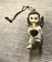 Goebel Berta Hummel Heavenly Chorus Angel Trombonist Ornament #935045 - $11.88