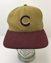 Vintage USA Chicago Cubs Hat Rare Wool Commemorative Color Size 6 7/8 - $62.32