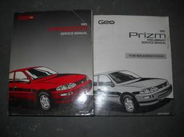 1993 GM Chevrolet Chevy Geo Prizm Service Shop Repair Manual SET - $13.85