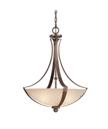 Capital Lighting C4337RTMS Soho Up Light Pendant Rustic Finish Width 19-... - $98.95