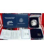 2010 boy scouts of america centennial commemorative proof silver $1 1oz ... - $65.00