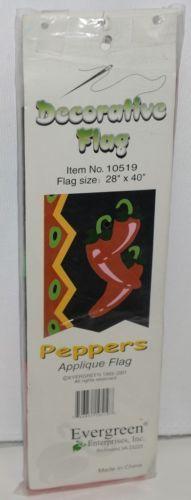 Evergreen Enterprises 10519 Peppers Applique Flag Indoor Outdoor
