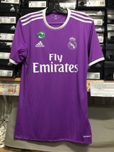 Adidas Real Madrid Away Jersey Super Classic Purple Jersey Size XXL   Only - $79.20