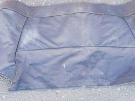 89-93 Jaguar XJS XJ-S Convertible Top Tonneau Boot Canvas Cover - BLUE image 3