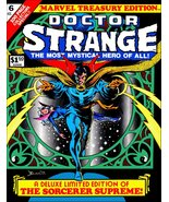 Marvel Dr.Strange #6 Treasury Edition Comic Cover Reproduction Stand-Up ... - $16.99