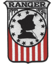 "4.875"" NAVY USS RANGER CV-4 EMBROIDERED PATCH - $23.74"