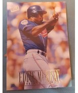 1996 Fleer Ultra #51 Eddie Murray Cleveland Indians Baseball Card - $1.00