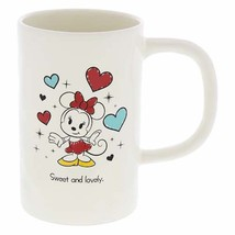 Disney Parks Minnie Mouse Sweet and Lovely 10oz Coffee Mug New - $17.85