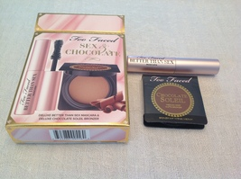 100% Authentic Too Faced Sex & Chocolate,Mini Mascara & Bronzer, Sold Out - $18.00