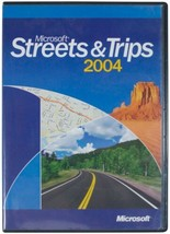 Microsoft Office Streets & Trips 2004 CD-ROM 2-Disc Set Customizable Maps Ms Pc - $18.69