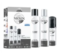 Nioxin  Hair Care Kit - System 2, Fine/Normal Hair with Progressed Thinning