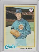 1978 Topps #325 Bruce Sutter  Cubs - $2.00