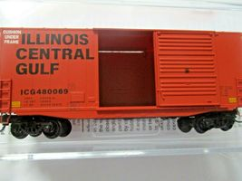 Micro-Trains # 10100150 Illinois Central Gulf 40' Hy-Cube Box Car N-Scale image 4