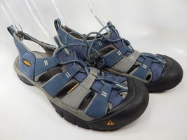 Keen Newport H2 Size 12 M (D) EU 46 Men's Sport Sandals Shoes Blue 1012206
