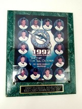 "Vintage 1997 Florida Marlins Wild Card Champions Playoffs Wall Plaque 10.5 x 13"" - $28.04"