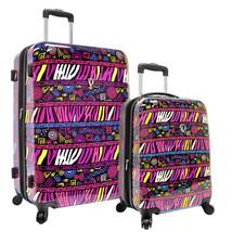 "Traveler Choice Bohemian African Art 21"" 28"" Expand Spinner Suitcase Lug... - $149.99"