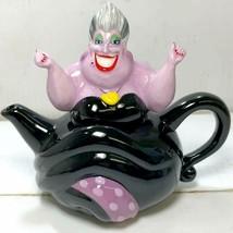 Disney Little Mermaid Villains Asura Teapot cafe kettle 310cc black  - $78.21