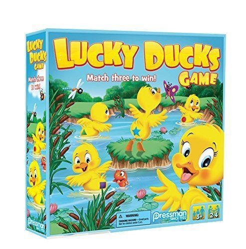 Lucky Ducks The Memory and Matching Game that Moves [New] Children's Match Game