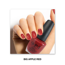Opi Nail Lacquer, Big Apple Red 0.5 Oz