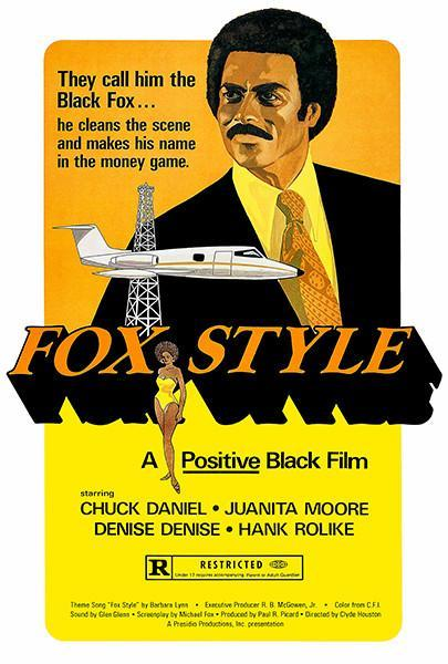 Primary image for Fox Style - 1973 - Movie Poster