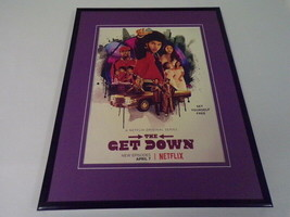 The Get Down 2017 Netflix 11x14 Framed ORIGINAL Advertisement - $22.55