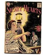 SECRET HEARTS #51 comic book 1958-DC ROMANCE - $21.11