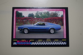 MUSCLE CARDS SERIES 1 KING OF THE HILL #76 1973 COBRA JET MUSTANG MACH 1 - $3.72