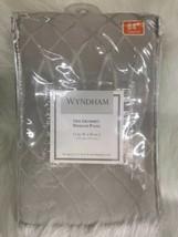 Wyndham 1 Grommet Window Panel, 52X84, Grey gray - $29.65