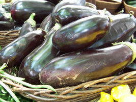 SHIPPED FROM US 200 Eggplant Black Bauty Heirloom Annual Seeds, GS04 - $11.00