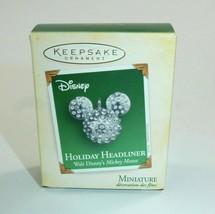 Hallmark 2005 Disney Christmas Ornament - Holiday Headliner Miniature w/Box - $9.49