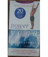 Power Yoga for Beginners with Rodney Yee, VHS Tapes !!! - $7.99