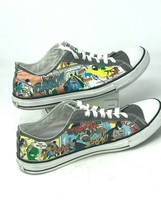 Unique Converse One Star Batman Comic Strip Sz 10 Shoe - $19.75