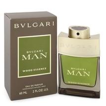 Bvlgari Man Wood Essence by Bvlgari Eau De Parfum Spray 2 oz for Men - $65.95
