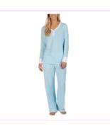 Lots of 3 Nautica Women's 2 Piece Fleece Pajama Light Blue Sleepwear Set... - $40.12