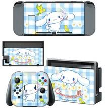 Nintendo Switch Joy-Con Dock Console Vinyl Skin Decals Cinnamoroll 15th Kawaii - $9.50