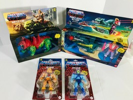 MOTU Origins 2020 He-Man & Skeletor & Sky Sled & Battle Cat Complete Set  - $158.37