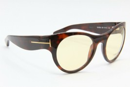 New Tom Ford Tf 5096 820 Havana Authentic Sunglasses 53-21 - $140.25