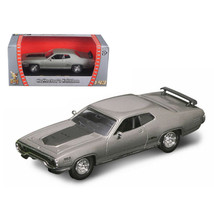 1971 Plymouth GTX 440 6 Pack Silver 1/43 Diecast Model Car by Road Signature ... - $22.71
