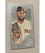 2019 Topps Allen & Ginter x Silver Mini Parallel David Price Red Sox #1/1 - $192.10