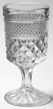 """Vintage Clear Glass Claret Wine Wexford by Anchor Hocking 5 3/8"""" juice - $3.99"""