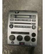 2007 NISSAN ARMADA RADIO CONTROL PANEL BOSE OEM - $62.89