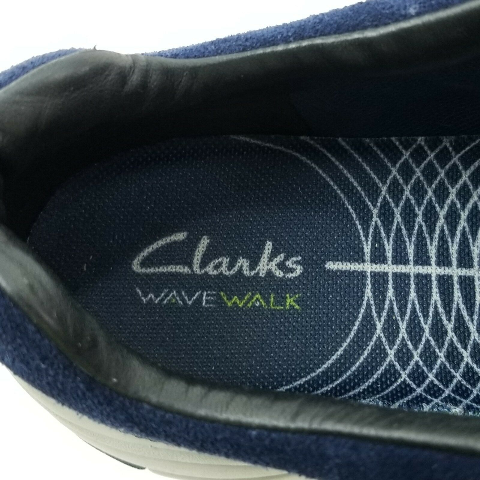 Clark's Outdoor Wave Walk Blue Waterproof Hiking Shoes 15990 Women's US 7 1/2