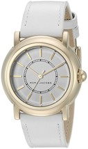 Marc Jacobs Women's MJ1449 Courtney White Leather Watch - $143.54