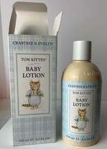 Crabtree & Evelyn Beatrix Potter Tom Kitten Baby Lotion New In Box - $19.79