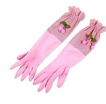 2 Pair Rubber Gloves Cleaning Gloves Waterproof Gloves Thick Kitchen Glo... - $14.39