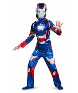 Marvel Iron Man 3 Iron Patriot Costume Cosplay Dress Up Extra Small Toddler - $15.83