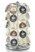 Nifty K-Cup Carousel in Chrome Holds 35 K-Cups. - $22.17